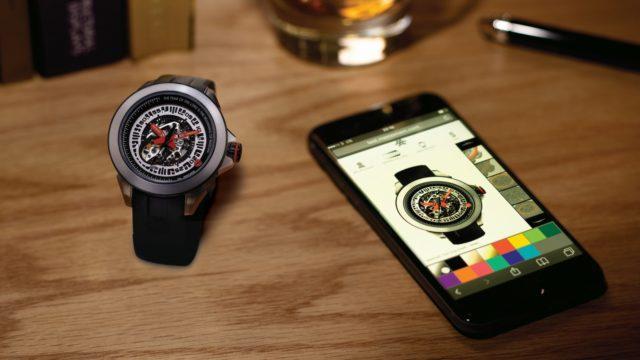 Memomem customisable watch