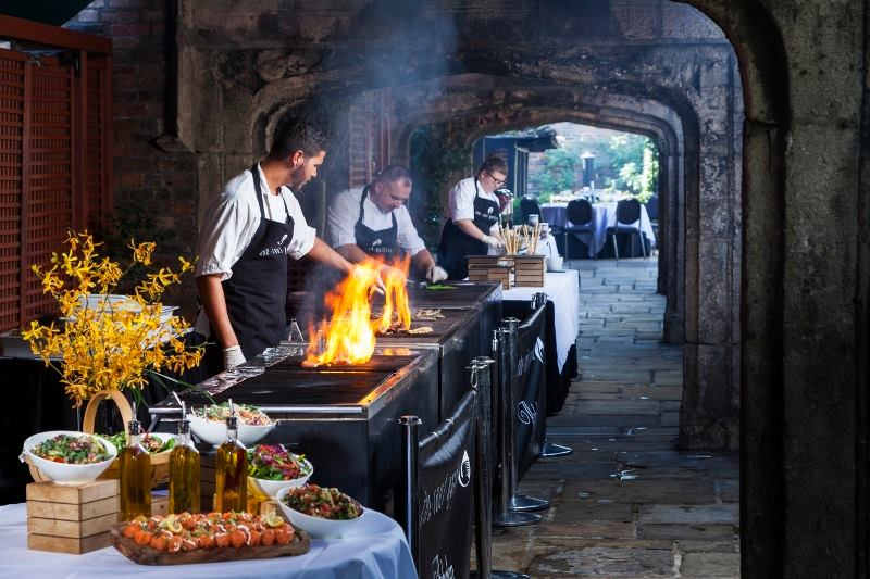 Roof Gardens Barbecue