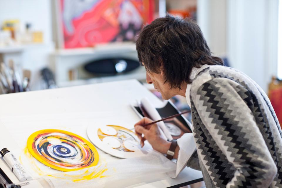 BREMONT-Ronnie Wood painting