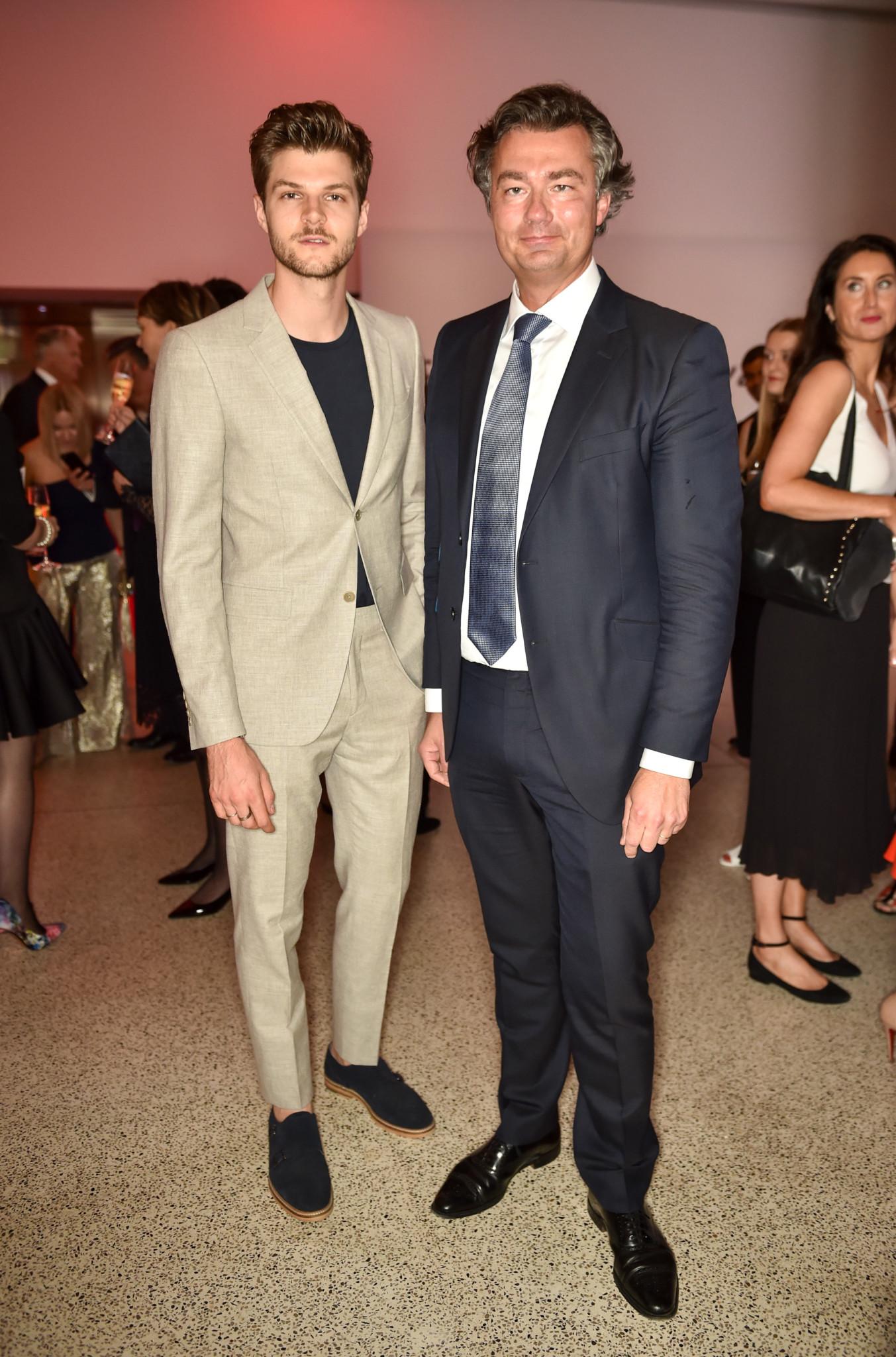 Jim Chapman and Laurent Feniou