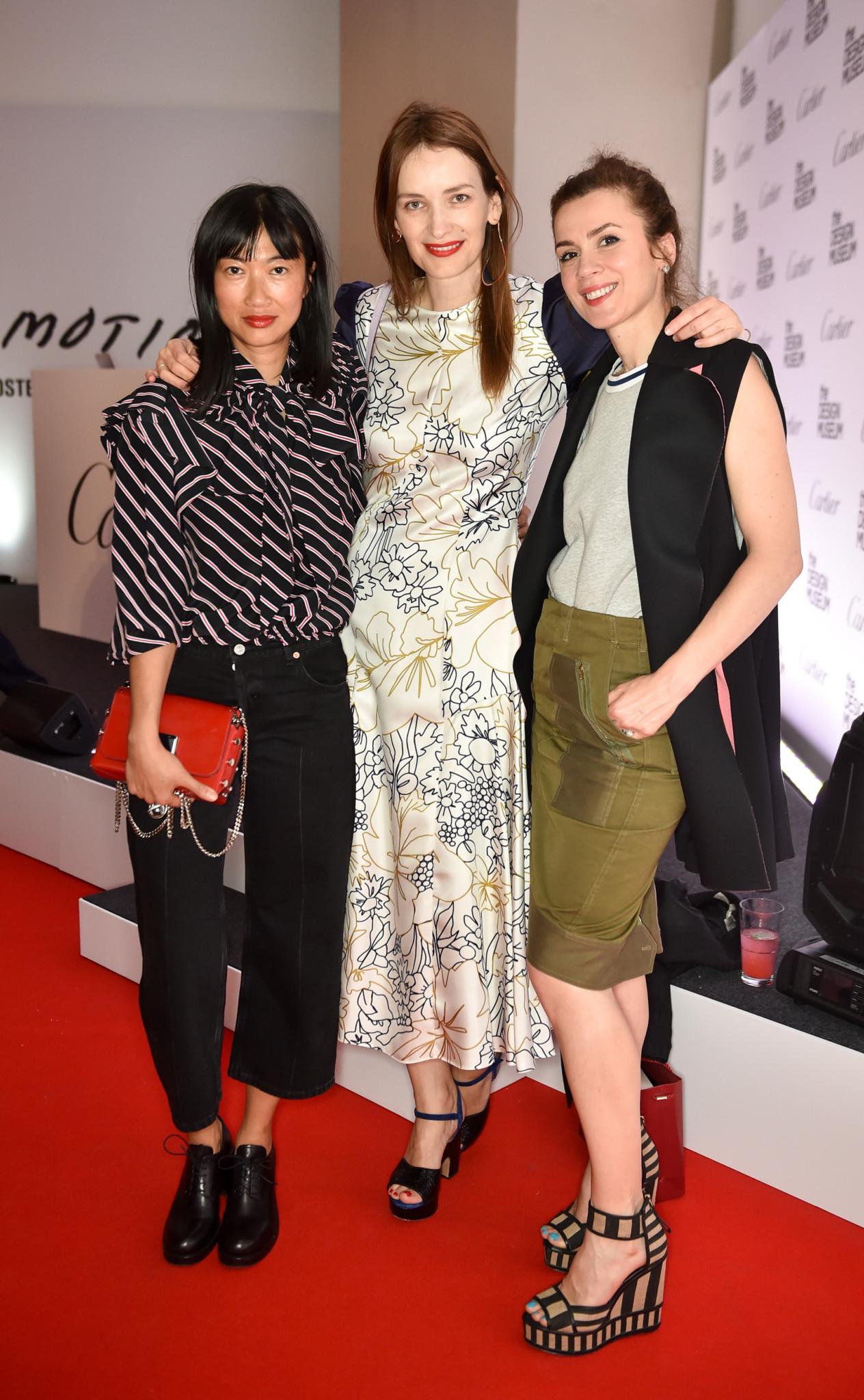 Mimi Xu, Roksanda Illincic and Lara Bohinc