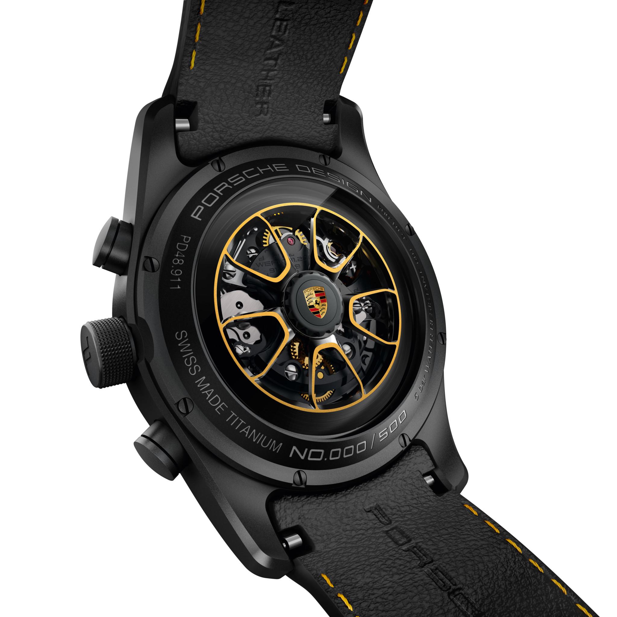 Porsche Design Chronograph 911 Turbo S Exclusive Series_Rotor_Gold