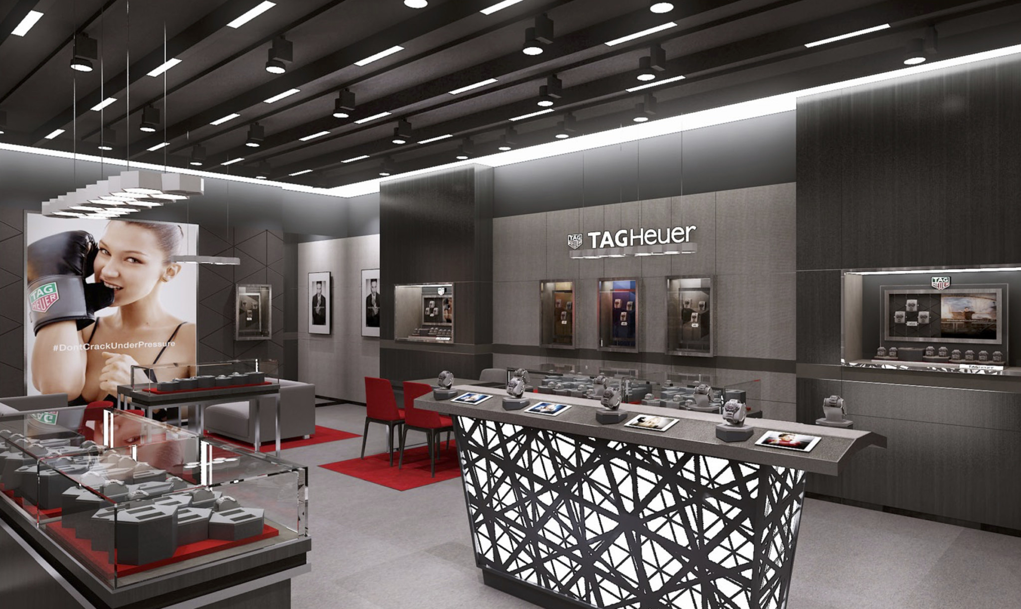 Aurum Holdings opened a monobrand TAG Heuer boutique in Sheffield's Meadowhall shopping centre this year.