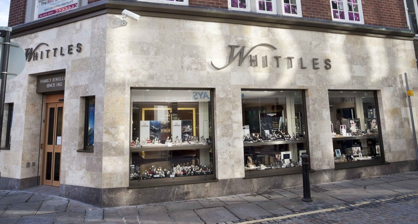 Beaverbrooks has owned almost half of the Whittles business in Preston since September 2016.