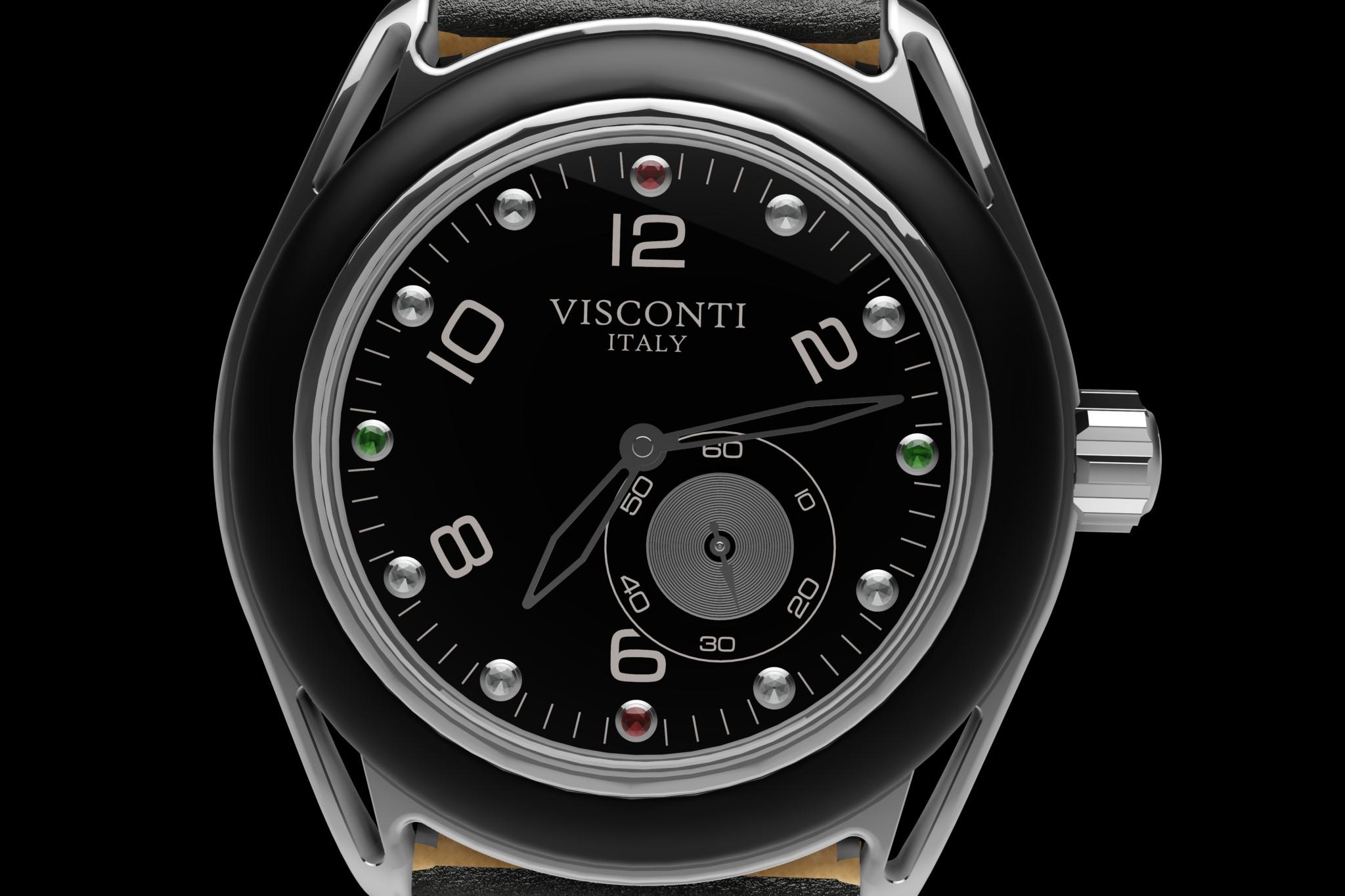 Visconti's Lava watch.