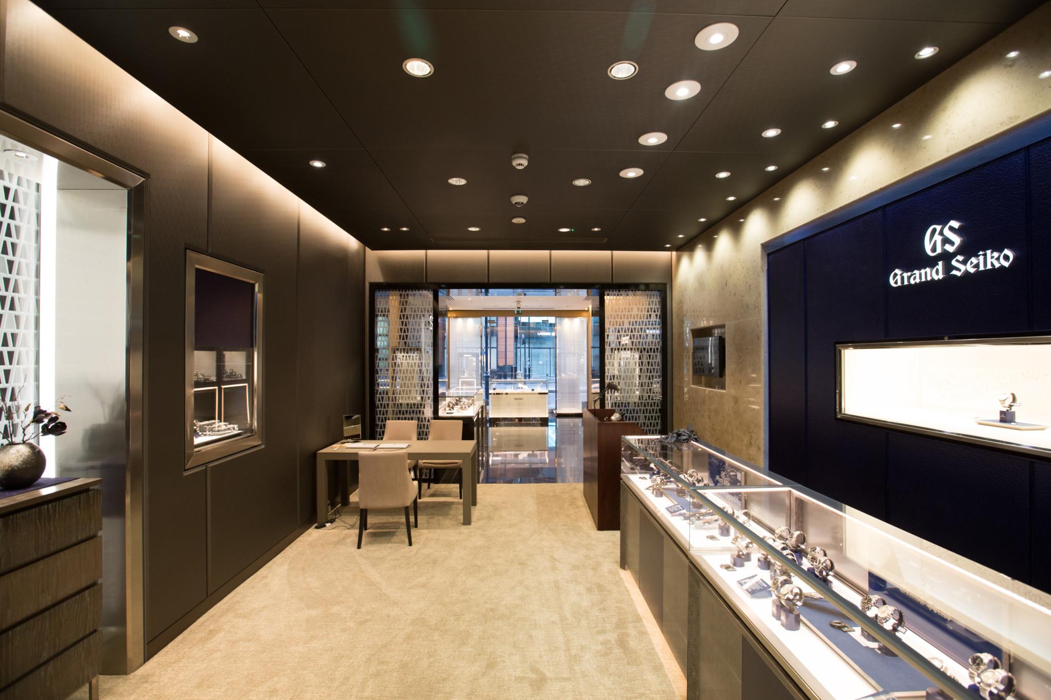 Seiko Boutique Interior