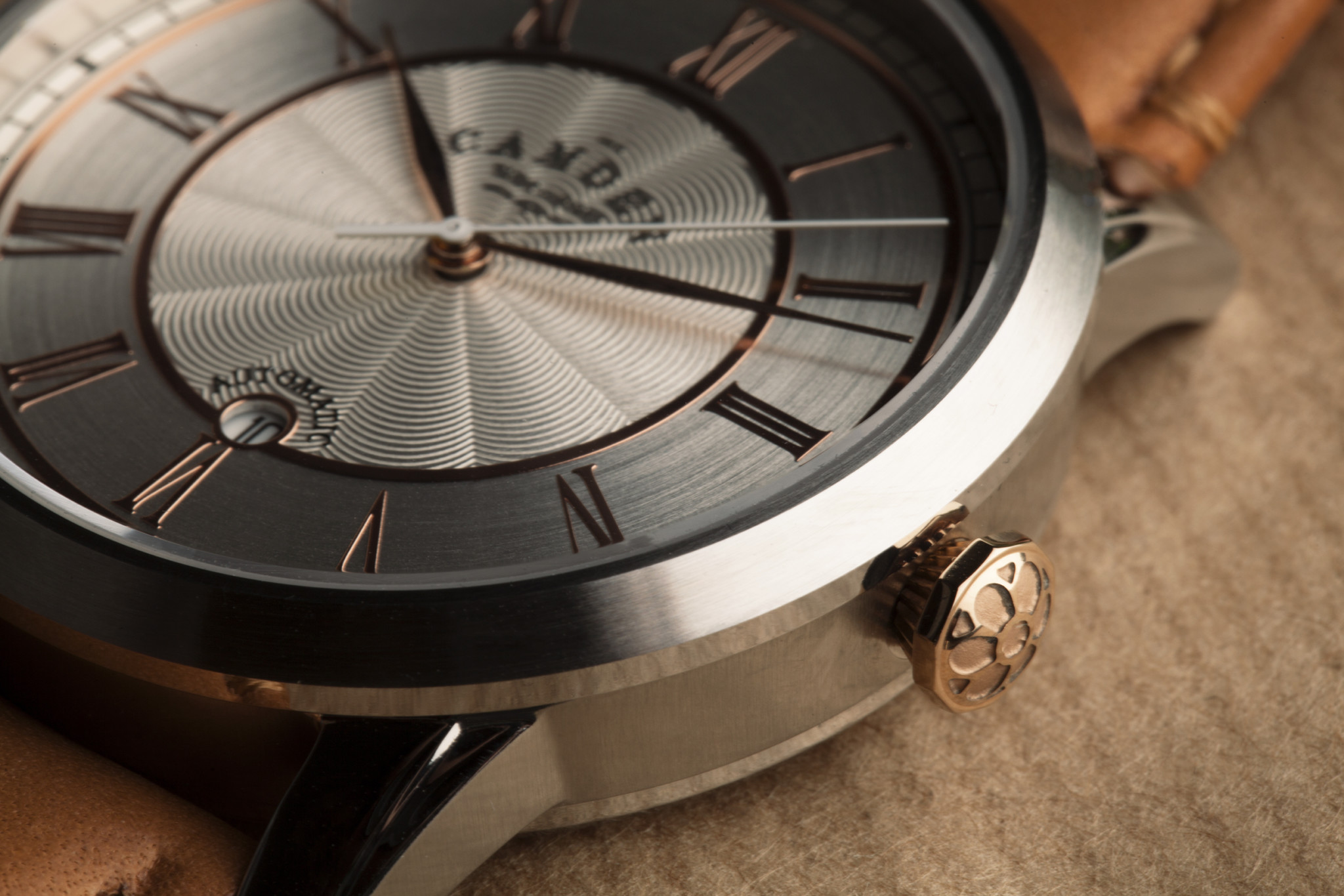 Camden Watch Company Automatic Steel and Rose Gold 1