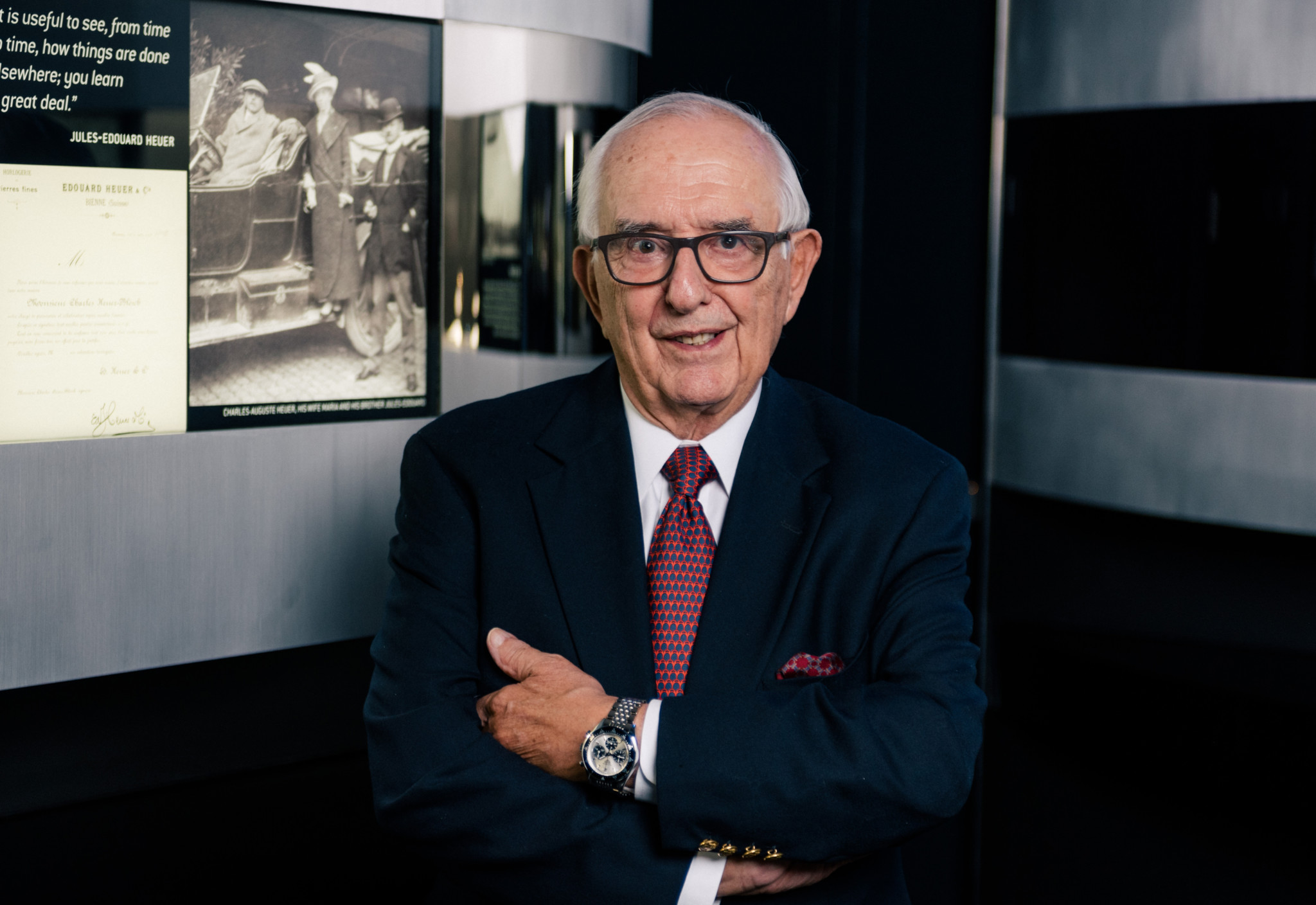 Jack Heuer from Tag Heuer