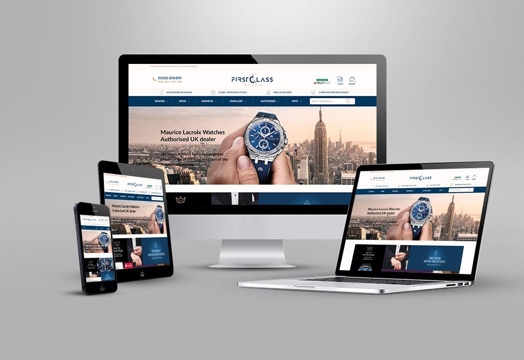 First Class website